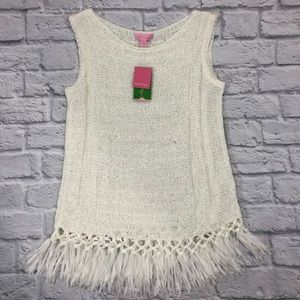 Lilly Pulitzer Luca Sweater Resort White. New! *